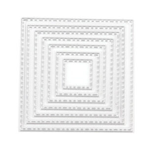 Square frame Metal DIY Cut Die Stencil Scrapbook Album Paper Card EmbossCraft&qi
