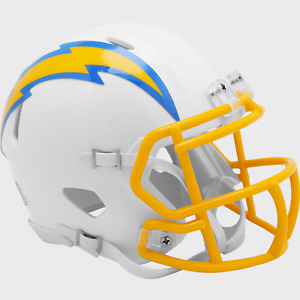 CHARGERS HELMET DECALS RIDDELL SCHUTT LOS ANGELES FOOTBALL NEW LARGE 3M 20 MIL