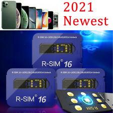 2021 Sim16 R-Sim15+ Nano Unlock Rsim Card for iPhone 12 11 Pro Xs Max Xr 8 7 6s