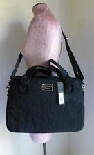 "Marc by Marc Jacobs 15"" Laptop Commuter Messenger Bag Pretty Nylon Black  NEW"
