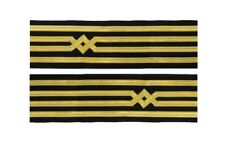 Master Uniform Cuff Braid Diamond Gold wire For  Master Chief Captain  R1920