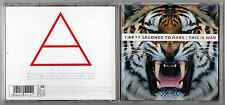 THIRTY (30) SECONDS TO MARS - This Is War - 2009 CD Album