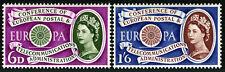 Great Britain 377-378, MNH. Europa CEPT, 1st anniv. Symbolic Wheel, 1960