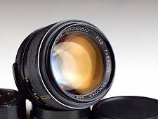 TOMIOKA AUTO CHINON 1.2/55 M42 lens JAPAN /54