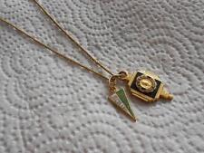Vintage Neosho High School Joplin Jr. College Missouri Charm Pendant Necklace