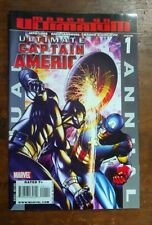 Ultimate Captain America Annual #1 (Marvel, 2008) Black Panther origin story