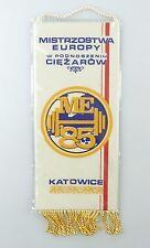 #e6407 Bunting Mistrzostwa Europy W podnoszeniu ciezarow me 1985 Katowice