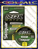 Seaguar SECOL MATCH Fluorcarbon puro 100% made in japan ø0,10->ø0,235mm 50mt.