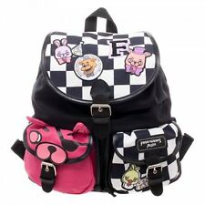 Five Nights at Freddy's Checkered Print Knapsack with Patches OFFICIAL UK SELLER