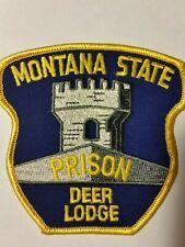 MONTANA STATE PRISON POLICE PATCH