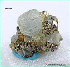Peru For You! Add to Your Stash With Octahedral Fluorite on Pyrite From Ancash!
