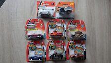 8x voitures Cars MATCHBOX blister box cardboard vintage 2000's (lot 2)