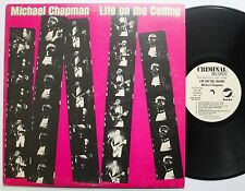 Michael Chapman White Label DJ Only Pacific Arts Criminal LP 1979