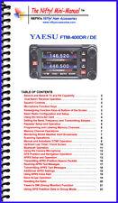 Yaesu FTM-400DR / DE Mini-Manual by Nifty Accessories
