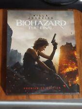 RARE: Biohazard: The Final (Resident Evil) 3D + 4K Japan Blu Ray Set Digipack