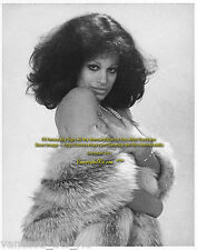 Vanessa del Rio Vintage Fur & Pearls 2 1974 VERY RARE! Sign  Aft BUY w/COA