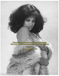 Vanessa del Rio Vintage Fur & Pearls 2 1974 VERY RARE! Sign  Aft BUY w/COA