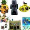 Spongebob Bikini Bottom Aquarium Dekoration Aquarium Haus Deko und Figuren Paket