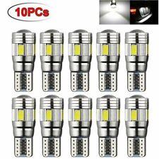 10x Veilleuses LED W5W T10 Canbus ANTI ERREUR BLANC XENON 6 SMD voiture moto