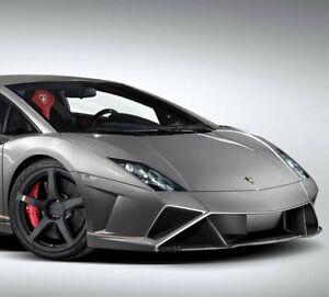Lamborghini Gallardo Final Edition Carbon Fiber Front Bumper Lip Spoiler