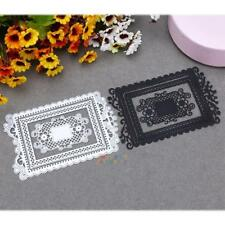 Lace Metal Cutting Dies Stencil Scrapbooking Embossing Album Paper Card Crafts
