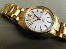 KING SEIKO KS HI-BEAT 5625-7000 Automatic Working Vintage Gold Medallion Date