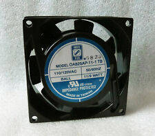 Orion 80mm x 25mm Fan 110V 115V 120V AC OA825AP-11-1 TB Made in Taiwan