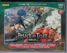 2018 Panini Meta X Attack On Titan Trading Card Game 100ct. TCG Starter Deck FS