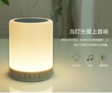 Touch Bedside Lamp Table with Wireless Bluetooth Speaker Dimmable Color Control