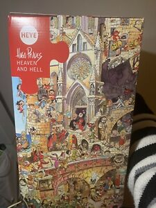 Heye 1500 Piece Jigsaw Puzzle Heaven and Hell