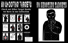 50 Shooting Targets 8. 5 X 11 - Silhouette, Target or Bullseye : Great for All F