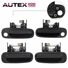 4x Exterior Door Handle fit 98-02 Toyota Corolla CE/LE Chevrolet Prizm