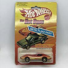 vintage - 1982 The Hot Ones Corvette Stingray No. 9241 Vintage Hot Wheels