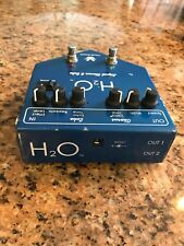 Visual Sound V2 H2O Echo Guitar Effect Pedal Chorus and Delay MAKE OFFER!!