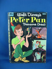 PETER PAN TREASURE CHEST DELL GIANT EXTRA THICK VG+ 1953