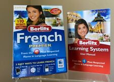 Berlitz French Premier CD Learning System for Windows/Mac