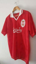 Vintage Liverpool  Mcmanaman No 7 Football  T-Shirt Size XL 1996-1998 Retro Logo