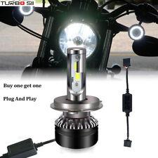 2x Motorcycle LED Headlight Light Bulb Hi/Lo Beam HeadLamp for Harley Davidson