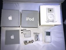 Rare Collectable Boxed Apple iPod classic 1st Generation White (5GB)