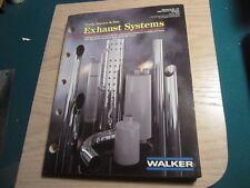 1989 Walker truck tractor bus exhaust catalog