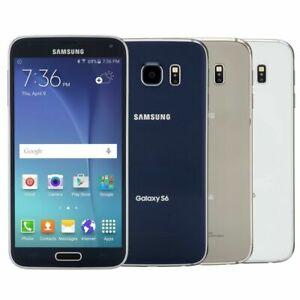 SAMSUNG G920 GALAXSY S6 32GB(VERIZON-UNLOCKED)GOOD CONDITION-6/10-WITH WARRANTY!