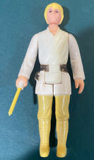 Star Wars Kenner Vintage LUKE SKYWALKER HONG KONG 1977 FARM BOY White 2 Line