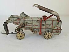 Antique Arcade McCormick Deering Cast Iron Threshing Machine Toy
