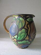 Super RARE Edith Nielsen Danmark Zeuthen Keramik Art Pottery Jug/Pitcher Signed