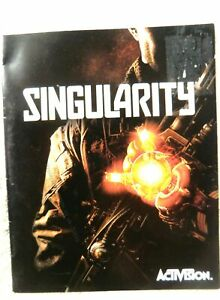 73810 Instruction Booklet - Singularity - Sony PS3 Playstation 3 (2010) BLES 005