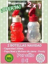 OFERTA!! 2 Botellas Infantil especial navidad 350 ML.  Tupperware