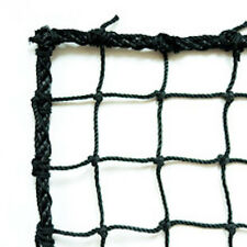 Baseball, Softball  Barrier Net,Knotted Nylon , #36 Black, 10' X 50' NEW!