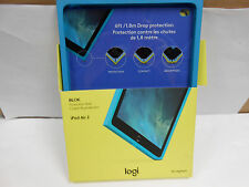 Logitech BLOK Protective Shell for iPad Air 2 BLUE  #939-0001255