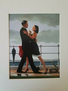 Jack Vettriano Anniversary Waltz Mounted Art Print Special Offer NEW