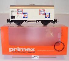 Primex H0 4557 Kühlwagen Langnese Iglo 2-achsig der DB OVP #3769